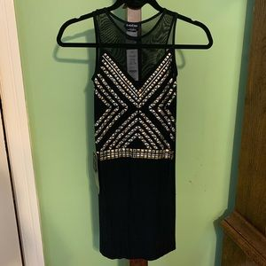 NWT black bebe dress size Small
